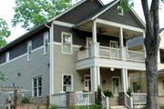 Craftsman Style House Plan - 4 Beds 3 Baths 2288 Sq/Ft Plan #461-34 Exterior - Front Elevation