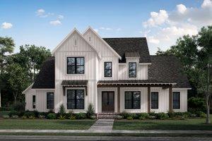 House Plan Design - Farmhouse Exterior - Front Elevation Plan #430-260