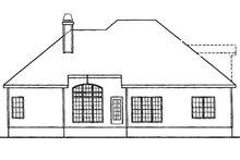 House Design - European Exterior - Rear Elevation Plan #927-30