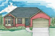 Traditional Style House Plan - 3 Beds 2 Baths 1620 Sq/Ft Plan #136-109