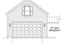 Country Exterior - Front Elevation Plan #932-128