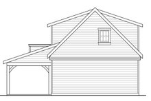 House Plan Design - Craftsman Exterior - Rear Elevation Plan #124-1038