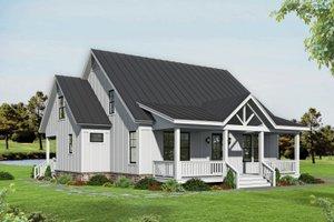 Farmhouse Exterior - Front Elevation Plan #932-345