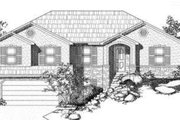 Traditional Style House Plan - 6 Beds 3 Baths 2868 Sq/Ft Plan #24-223 Exterior - Front Elevation
