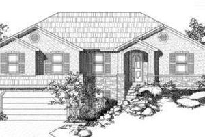 Traditional Exterior - Front Elevation Plan #24-223