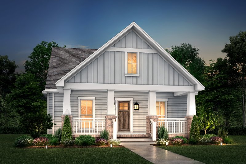 House Plan Design - Craftsman Exterior - Front Elevation Plan #430-79