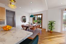 House Plan Design - Contemporary Interior - Dining Room Plan #48-986