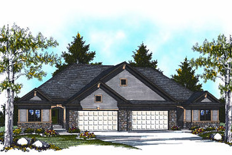 Traditional Exterior - Front Elevation Plan #70-893 - Houseplans.com