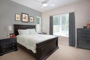 Contemporary Style House Plan - 4 Beds 4 Baths 3582 Sq/Ft Plan #938-92 Interior - Bedroom