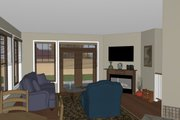 Craftsman Style House Plan - 3 Beds 2 Baths 1678 Sq/Ft Plan #126-182 Interior - Other