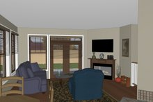 Craftsman Interior - Other Plan #126-182
