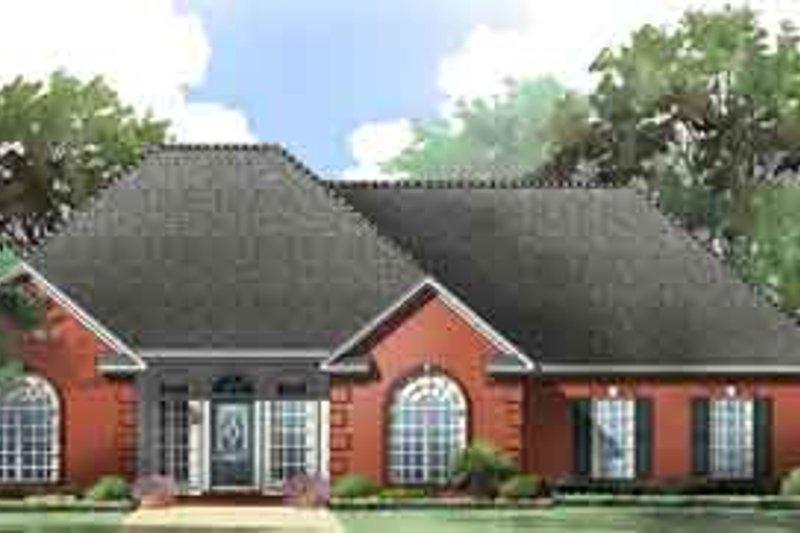 Dream House Plan - European Exterior - Front Elevation Plan #21-174