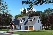 Craftsman Style House Plan - 3 Beds 2.5 Baths 1986 Sq/Ft Plan #923-169 Exterior - Other Elevation