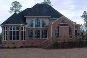 European Style House Plan - 4 Beds 3.5 Baths 3065 Sq/Ft Plan #119-130 Exterior - Rear Elevation