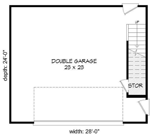 Country Floor Plan - Main Floor Plan Plan #932-160