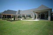 European Style House Plan - 4 Beds 4.5 Baths 6554 Sq/Ft Plan #923-69 Exterior - Rear Elevation