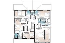 Farmhouse Floor Plan - Upper Floor Plan Plan #23-2686