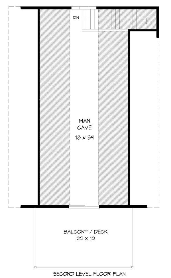 Country Floor Plan - Upper Floor Plan #932-188