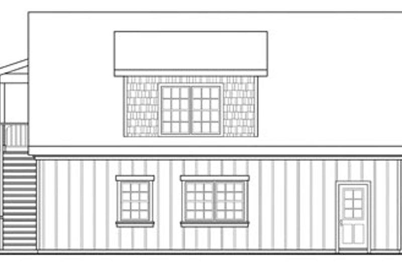 Craftsman Exterior - Other Elevation Plan #124-657 - Houseplans.com