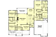 Country Style House Plan - 3 Beds 2.5 Baths 2447 Sq/Ft Plan #430-176 Floor Plan - Main Floor