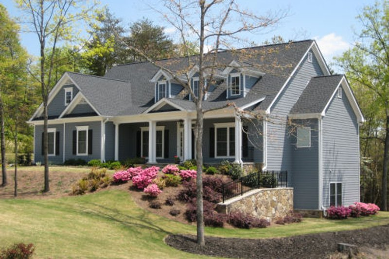 Country Exterior - Other Elevation Plan #437-40 - Houseplans.com