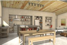 Modern Interior - Kitchen Plan #497-32