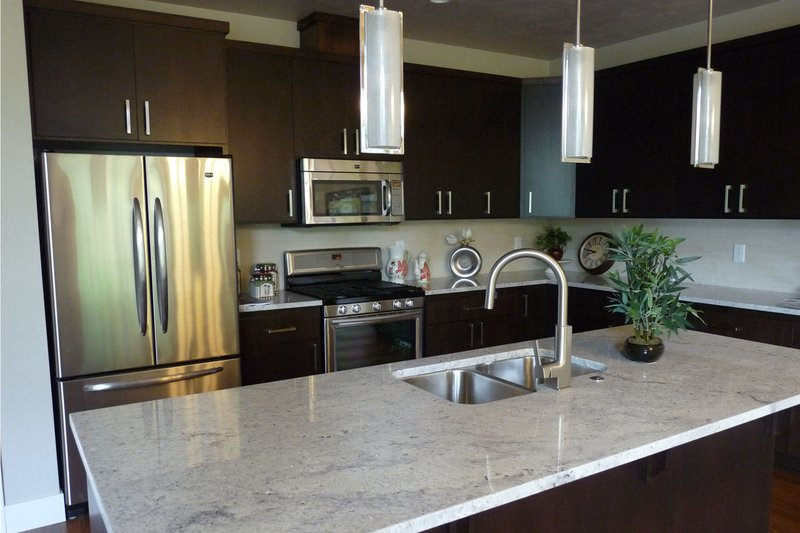 Prairie Interior - Kitchen Plan #124-924 - Houseplans.com