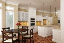 Dream House Plan - European Interior - Kitchen Plan #45-379