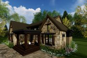 Contemporary Style House Plan - 3 Beds 2.5 Baths 2358 Sq/Ft Plan #51-585 Exterior - Other Elevation