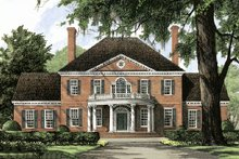 Front View - 4500 European style home