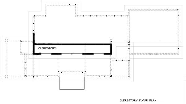 Modern Floor Plan - Upper Floor Plan #895-31