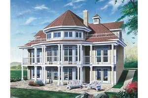 Traditional Exterior - Front Elevation Plan #23-415