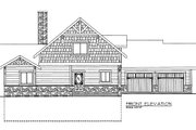 Bungalow Style House Plan - 3 Beds 3.5 Baths 1824 Sq/Ft Plan #117-670
