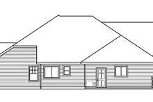 Dream House Plan - Craftsman Exterior - Other Elevation Plan #124-758