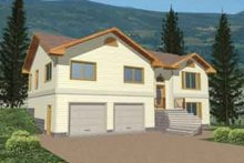 Dream House Plan - Traditional Exterior - Front Elevation Plan #117-205