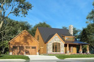 Craftsman Exterior - Other Elevation Plan #923-178