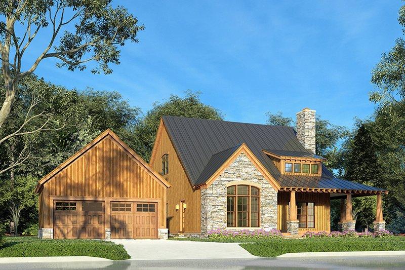 Craftsman Style House Plan - 3 Beds 2.5 Baths 2006 Sq/Ft Plan #923-178