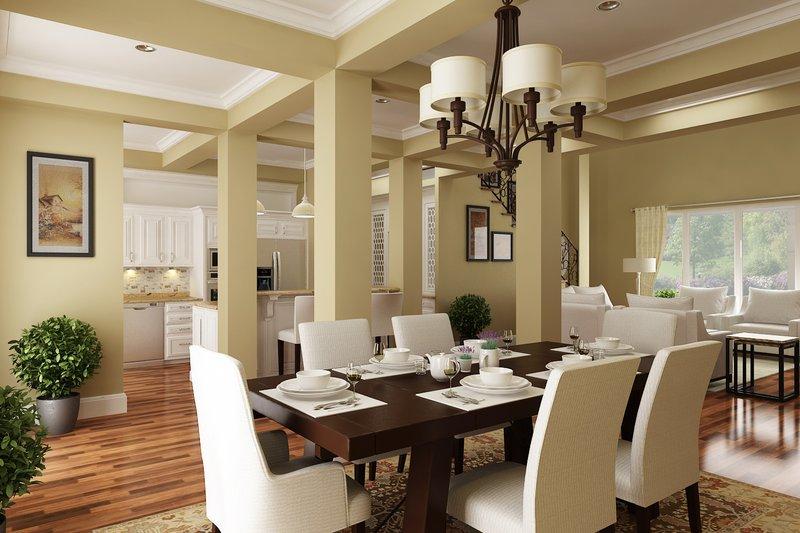 Traditional Interior - Dining Room Plan #45-380 - Houseplans.com