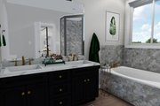 Ranch Style House Plan - 2 Beds 2 Baths 1801 Sq/Ft Plan #1060-40 Interior - Master Bathroom
