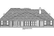 Dream House Plan - Craftsman Exterior - Rear Elevation Plan #410-136