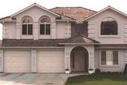 European Style House Plan - 4 Beds 2 Baths 1986 Sq/Ft Plan #18-228 Exterior - Other Elevation