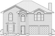 Classical Style House Plan - 4 Beds 2 Baths 2419 Sq/Ft Plan #84-318 Exterior - Other Elevation
