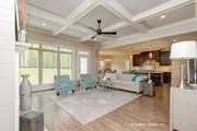 Craftsman Style House Plan - 4 Beds 3 Baths 2498 Sq/Ft Plan #929-973 Interior - Family Room