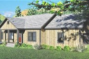 Ranch Style House Plan - 3 Beds 2 Baths 1311 Sq/Ft Plan #44-239