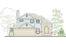 Home Plan - Traditional Exterior - Front Elevation Plan #80-136