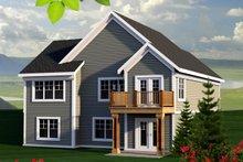 Craftsman Exterior - Rear Elevation Plan #70-1213