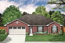 Dream House Plan - Traditional Exterior - Front Elevation Plan #84-192
