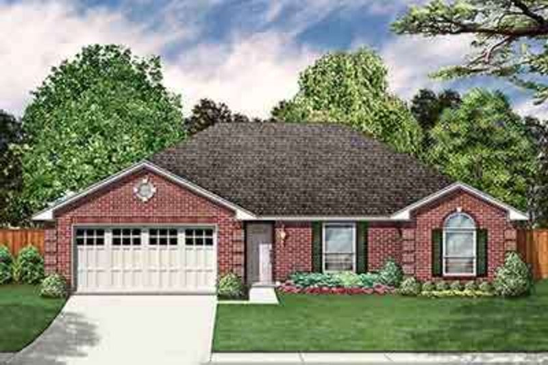 Traditional Exterior - Front Elevation Plan #84-192