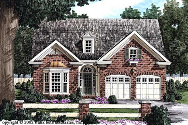 Traditional Exterior - Front Elevation Plan #927-38 - Houseplans.com