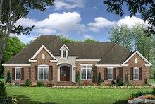 Dream House Plan - European Exterior - Front Elevation Plan #21-298